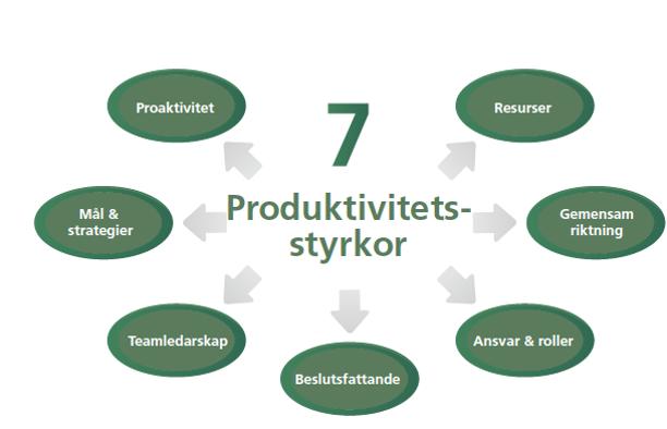 7-produktivitetsstyrkor